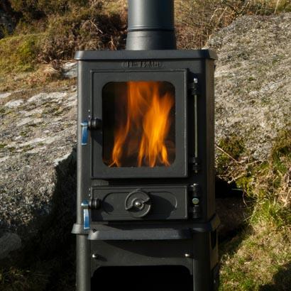Goval stoves supplier installer of wood burning stoves for Salamander stoves
